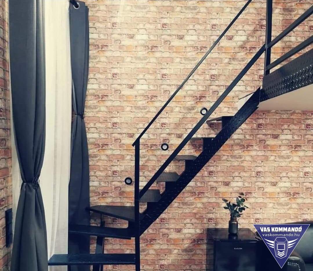 lépcső készítés referencia - épület felújítás